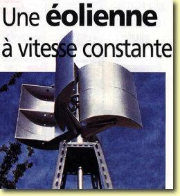 Eolienne à axe vertical, plans de construction Presentation