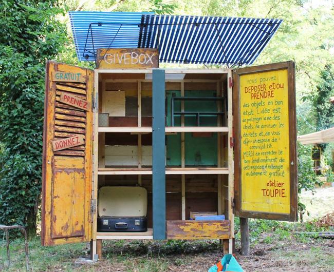 solidarité alimentaire sans intermédiaires (P2P)  Givebox