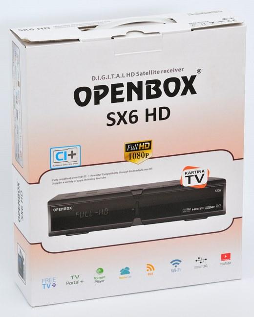 أجهزة الجيل الرابع OpenBox 61