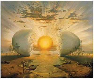 Understanding the 5D Shift...The 5D Shift Project Chad-Sunrise-by-the-Ocean-by-Vladimir-Kush