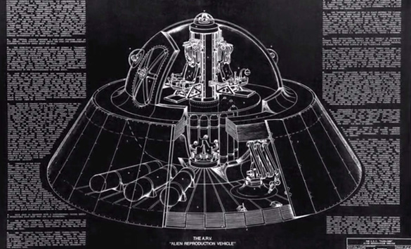 'Our' Secret Space Fleets 'We' have been exploring deep space since the 1960s ARV-Flux-Liner