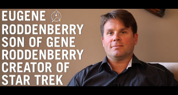 Star Trek creator's son discusses UFOs and aliens Eugene-Roddenberry-ftr