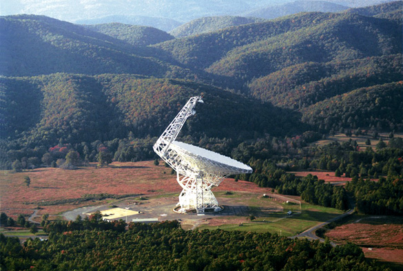 New mysterious signals detected by search for extraterrestrial intelligence (SETI) project Green-Bank-100m_diameter_Radio_Telescope