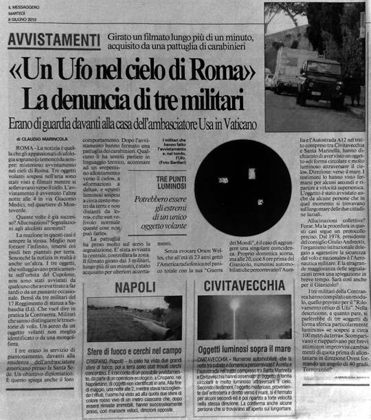 2010: Le 5/06 à 23h50 - 4 lumiéres rouge (Pas-de-calais) IlMessaggero