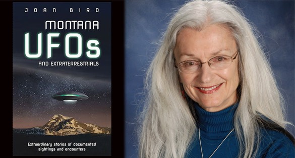 Montana UFO's Extraterrestrials and Unearthly Alloys (Video) Joan-Bird-Book