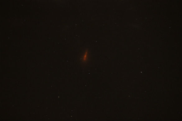 UFO News ~ Mysterious red light photographed in the Louisiana night sky plus MORE Red-Blob-1