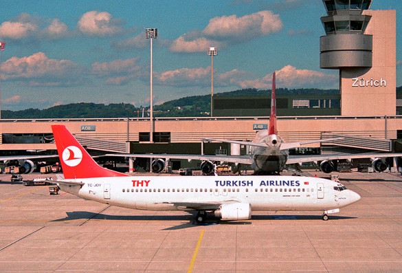 Turkish pilots recall UFO sightings Turkish-Airlines-in-Zurich