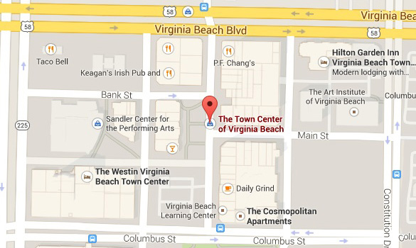 Weird UFO caught on video over Virginia Beach Town Center Virginia-Beach-Town-Center-Map