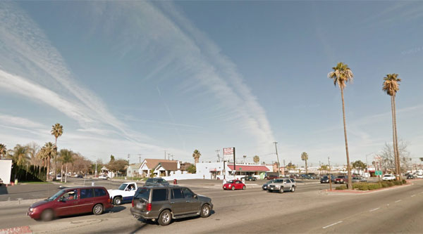 Three months in a row of UFOs over Bakersfield Central_bakersfield