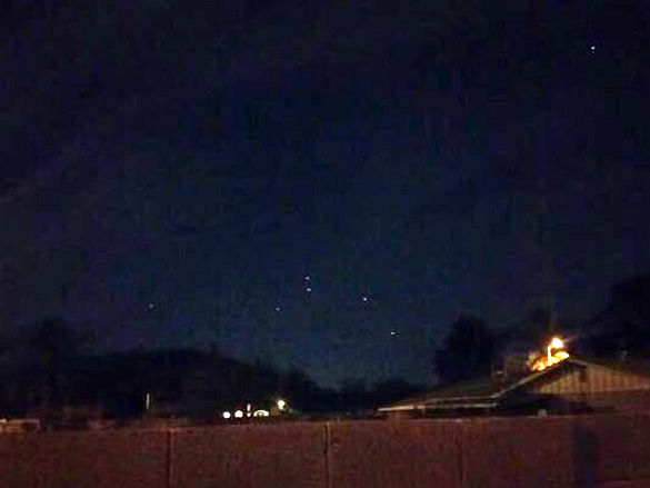 Several witnesses video UFOs over Phoenix on Easter Peteyrocks-Phoenix-UFO