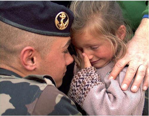 Edition 2010 de l'opération « Un message pour nos militaires en opex » Marsouin-20091205