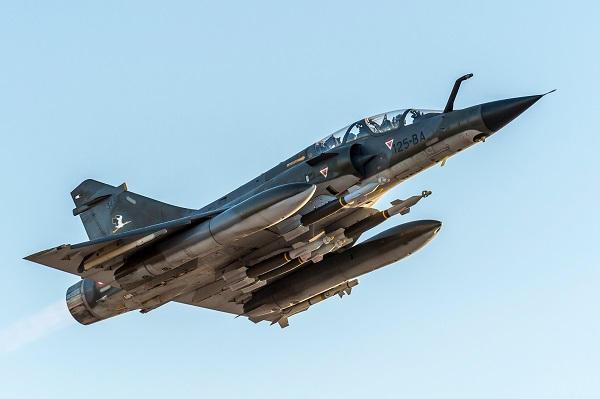 Le Mirage 2000N prend sa retraite, après 30 ans passés au service de la dissuasion nucléaire . 2000n-20180621-1