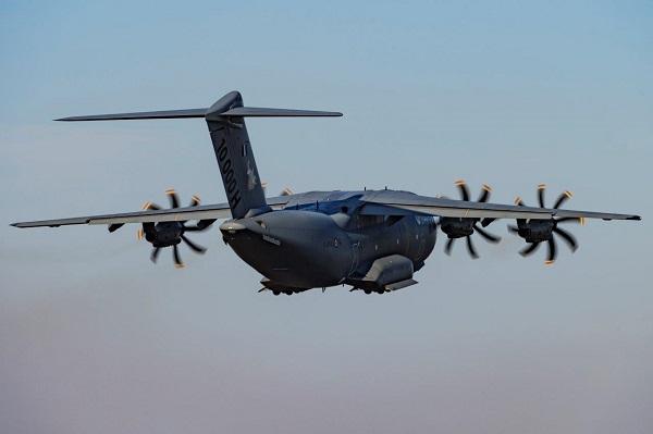 Résilience : L'armée de l'Air envoie un avion de transport A400M aux Antilles A400m-20200520