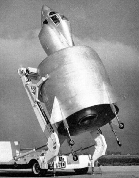 Il y a 60 ans, l'aventure du révolutionnaire projet d'avion C-450 « Coléoptère » prenait fin  . C450-20190728-1