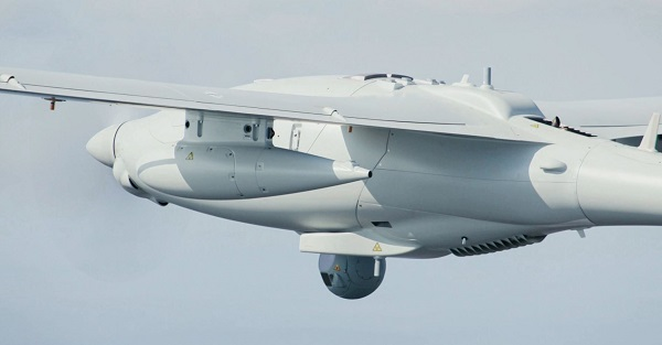 Le Drone de l'armée de terre  (Alat) attend sa qualification. de mise construction industrielle  Patroller-20211002