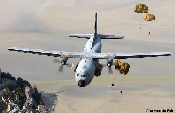 Armée de l'Air : Les lacunes de l'aviation de transport vont durer « encore quelques années » Transall-20160901