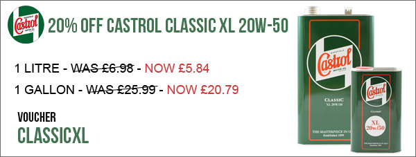 20% Off 5w-40 Ester Race Oils | Plus other New offers Classicxl-offer