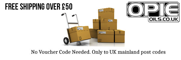 FREE shipping over £50 only at Opie Oils Freeforums