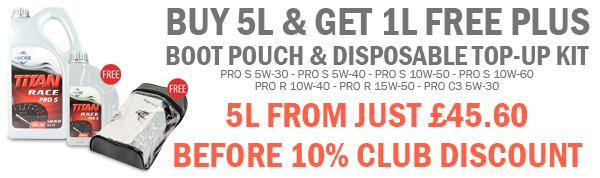 Fuchs Titan Race Pro S - Buy 5L & get 1L Free Fuchs-november
