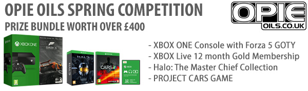 XBOX ONE & 3 games to be won at Opie Oils Opieoilspringcomp2015