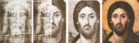 معجزة الكفن المقدس Facessofjesus