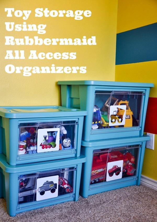 как организовать быт или 11 непарных перчаток SHOULD-DO-Toy-Storage-bwo-Rubbermaid-All-Access-Organizers