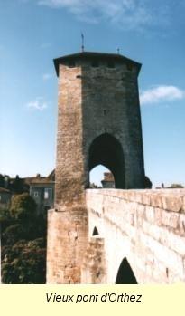 Bataille d'ORTHEZ (Pyrénées-Atlantiques), 27 février... Pont