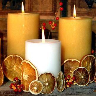 Svece  u svim varijantama - Page 2 Thanksgiving-candle-centerpieces-5