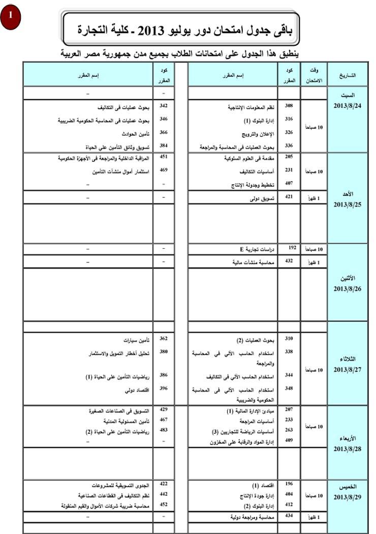 جداول امتحانات تجارة جامعة القاهرة دور يوليو 2012  Exam%20Commerce%201