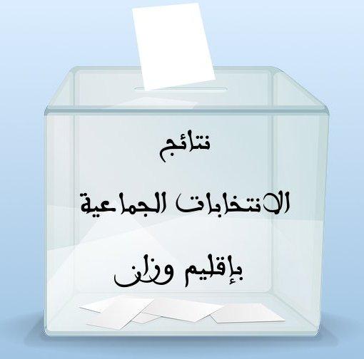 النتائج الرسمية للانتخابات الجماعية 4 شتنبر 2015م بمختلف جماعات إقليم وزان Intikhabat-jamaaia