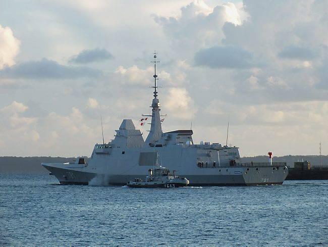 Royal Moroccan Navy FREMM Frigate / FREMM Marocaine - Mohammed VI - Page 8 La-fregate-fremm-mohammed-vi-en-essais