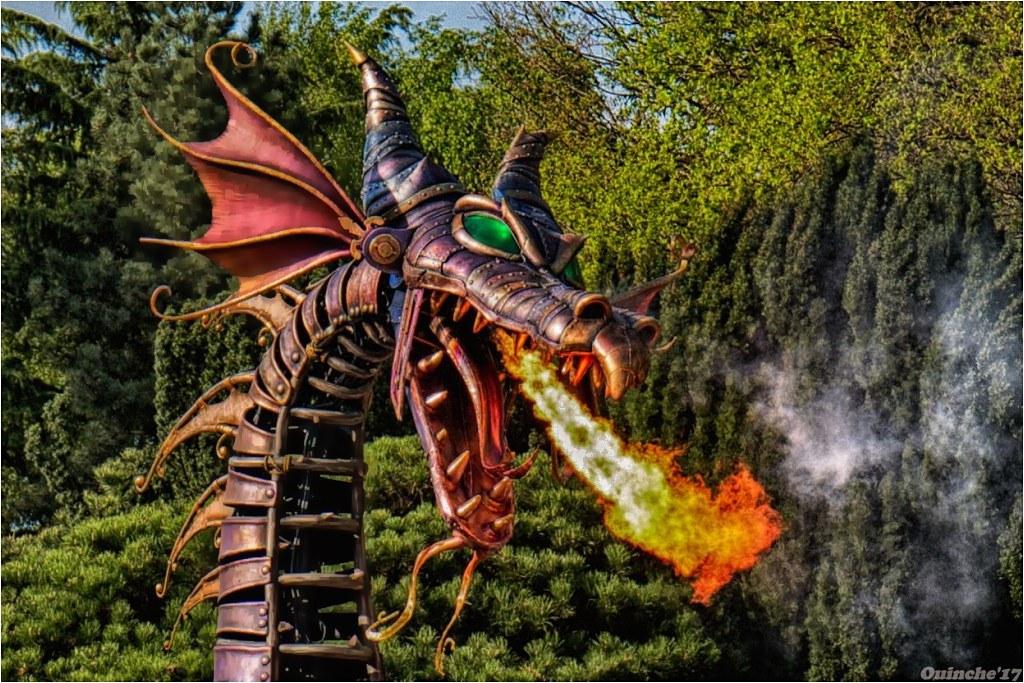 Photos de Disneyland Paris en HDR (High Dynamic Range) ! - Page 5 Dragon_portrait_HDR