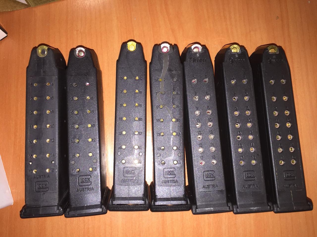 Magasins Glock 17 Magasins