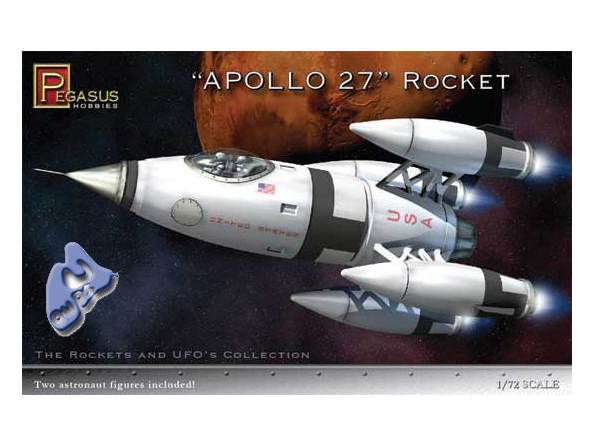 US Moon Ship de chez Lindberg : TERMINE ! ! ! Pegasus-maquette-espace-9101-apollo-27-rocket-ship-1-72
