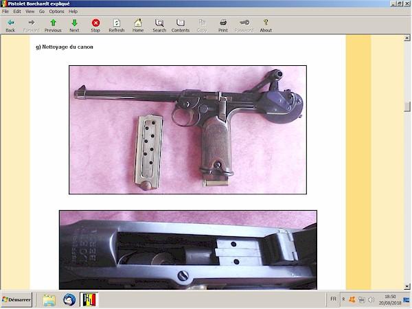 Le pistolet Borchardt modèle 1893 expliqué - ebook Im-02