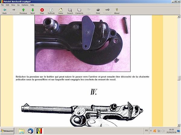 Le pistolet Borchardt modèle 1893 expliqué - ebook Im-03