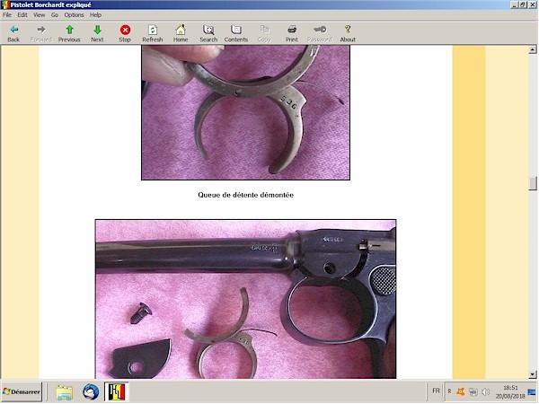 Le pistolet Borchardt modèle 1893 expliqué - ebook Im-05