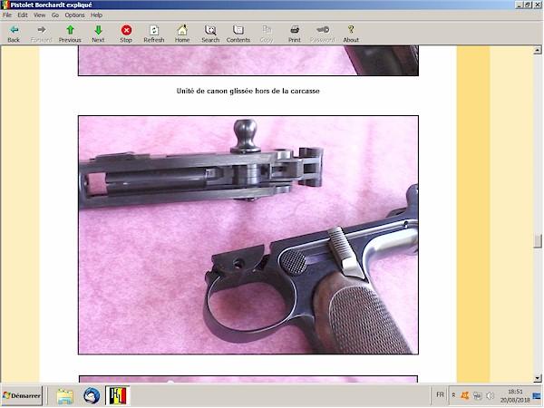 Le pistolet Borchardt modèle 1893 expliqué - ebook Im-06