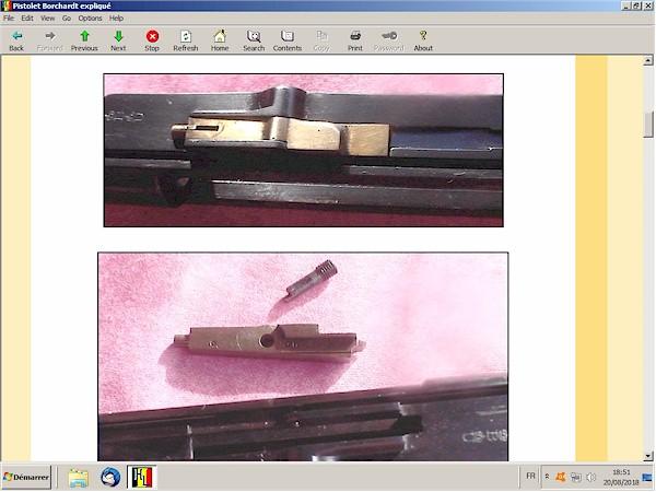 Le pistolet Borchardt modèle 1893 expliqué - ebook Im-07