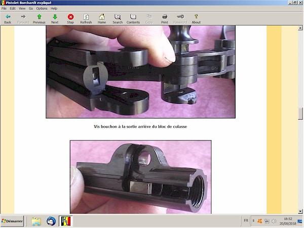 Le pistolet Borchardt modèle 1893 expliqué - ebook Im-08