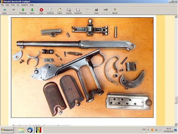 Le pistolet Borchardt modèle 1893 expliqué - ebook Im-09