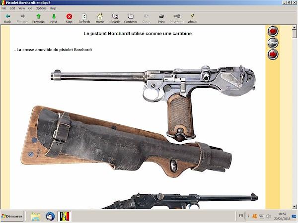 Le pistolet Borchardt modèle 1893 expliqué - ebook Im-10