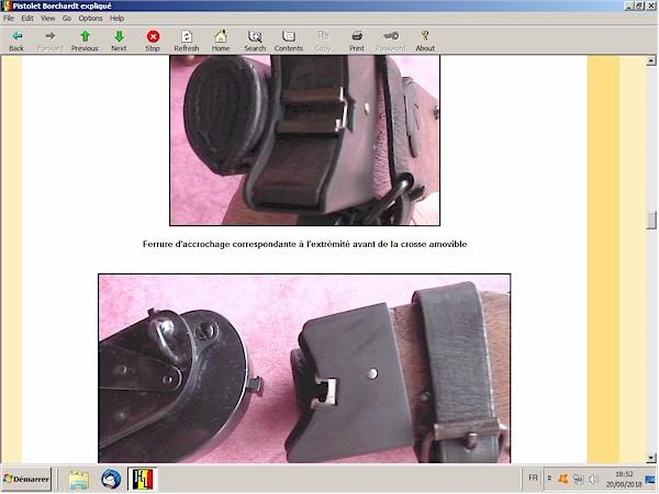 Le pistolet Borchardt modèle 1893 expliqué - ebook Im-11