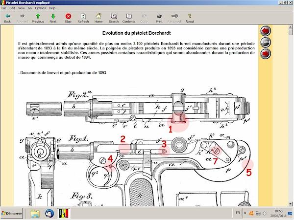 Le pistolet Borchardt modèle 1893 expliqué - ebook Im-12