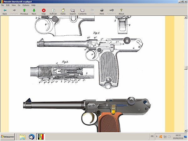 Le pistolet Borchardt modèle 1893 expliqué - ebook Im-13