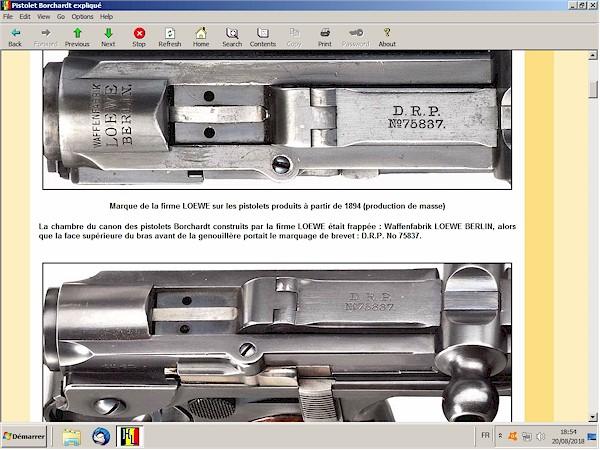 Le pistolet Borchardt modèle 1893 expliqué - ebook Im-15