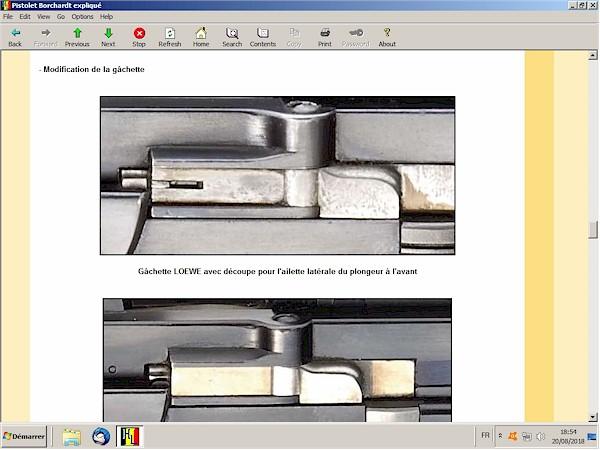 Le pistolet Borchardt modèle 1893 expliqué - ebook Im-16