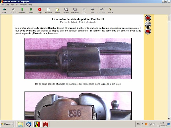 Le pistolet Borchardt modèle 1893 expliqué - ebook Im-18