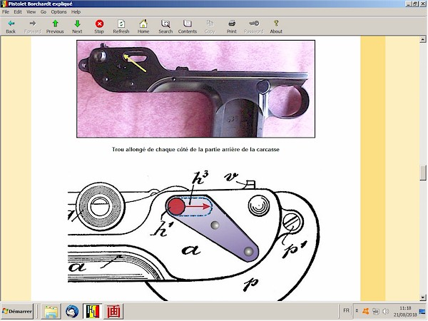 Le pistolet Borchardt modèle 1893 expliqué - ebook Im-20