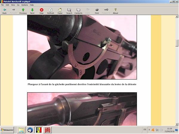 Le pistolet Borchardt modèle 1893 expliqué - ebook Im-23